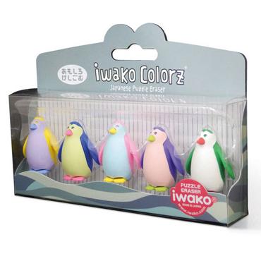 Gomas fantasia Pingüino P/5