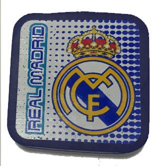 Goma borrar Real Madrid.