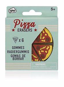 Gomas borrar fantasia Pizza