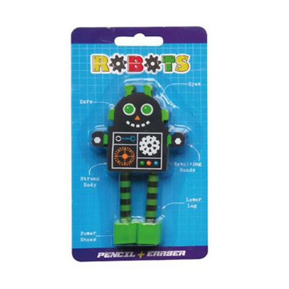 Goma borrar fantasia Robot.