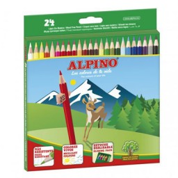24 lápices de color Alpino AL010658