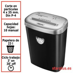 Destructora papel Fellowes 53C uso moderado 4653101