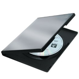 5 estuches DVD Slim Fellowes 83357