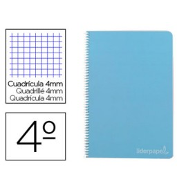 CuadernoWITTY Folio c/4mm. Liderpapel 09781